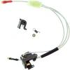 Комплект усиленной проводки LONEX для 2 версии с выводом в приклад, серебро